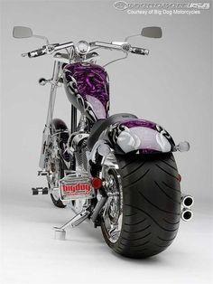 Wow..custom trike!