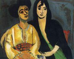 Aicha and Laurette (1917) - Henri Matisse