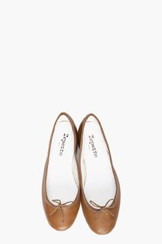Repetto Olive ballet flats