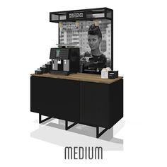 Coffeestation_Medium Liquor Cabinet, Magazine Rack, Bar, Medium, Storage, Furniture, Home Decor, Purse Storage, Decoration Home