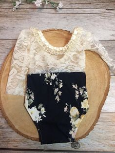 Please read shop policy for current make time. This romper set is the SWEETEST photo prop!! This itty bitty romper is intended for newborn photography. It is very delicate and not intended for everyday wear. This set is made with a super soft jersey fabric and a stretch lace