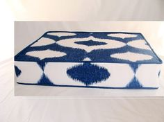 IKAT floor cushion made to order by madebyzigzag, $105.00