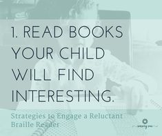 Make reading fun for a braille reader who is struggling to learn. Here are 10 ideas to engage kids by making reading braille a positive experience. Reading Braille, Braille Reader, Books To Read, Positivity, Sun, Learning, Ideas, Studying, Teaching