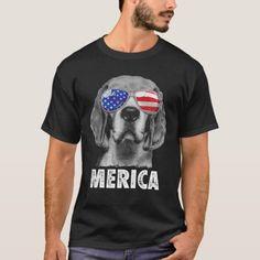 Beagle 4th of July Merica Sunglasses American Flag T-Shirt  blue tick beagle, puppy diy projects, australian shepherd puppy training #love #jackrussell #sleepingbeauty, back to school, aesthetic wallpaper, y2k fashion Rottweiler Funny, Beagle Funny, Woodstock, Charlie Brown, Beagle Gifts, Blue Fireworks, Cute Beagles, Corgi Husky, Beagle Puppies
