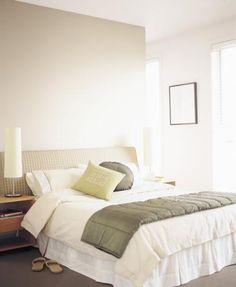 Dulux Bedroom: Simple Pleasures by Dulux Australia (White on White, Beige Royal)
