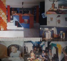 Projeto Literário desenvolvido no SESC - Homenagem a Monteiro Lobato - Com apresentações artísticas e oficinas