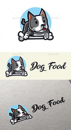 Dog Food Logo - Animals Logo Templates Get it now!! #logo #designlogo #logos #logodesign #logopremium #brand #branding #business #company #abstract #creative #mascot #designoflogo #thelogo #thedesign #logotemplate #print #logocompany #logoesport #logoanimal #logoabstract #envato #envatomarket #graphicriver #premiumdesign #creativemarket #freepik #shutterstock #behance #dribbble