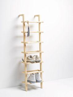 --Gaston shoe rack.