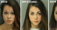 """Cute Mugshot Girl"" Got Arrested Again—Here Are Her New Mugshots"