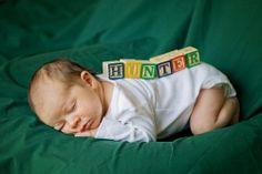 hunter.adorable new born photography