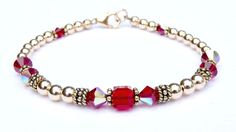 Swarovski Crystal Beaded Bracelet