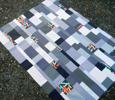 Washi Tiles Quilt Top