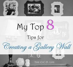 Top 8 Gallery Wall Tips