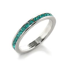 emerald band ring - Google Search