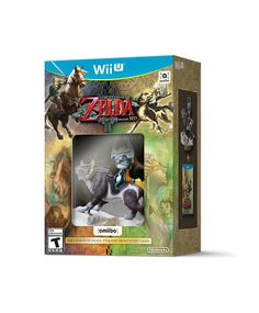 Legend of Zelda: Twilight Princess HD & Wolf Link amiibo Wii U Video Game Bundle Zelda Twilight Princess, The Legend Of Zelda, Link And Midna, Box Software, Wii U Games, Wolf, Mode Shop, Latest Games, Nintendo 3ds