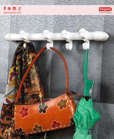 Nuestro #perchero colgador es tu mejor opción para estos días de lluvia ☔. La puedes utilizar en el cuarto de baño, el dormitorio, la oficina, el garaje, y hasta en armarios🔝.  ♦Si esas opciones no te gustan, puedes colocarla en la pared ¡porque incluye las plantillas que necesitas!....  #Diasdelluvia #Productos #toyma #catalogo #diseño #calidad #hogar #baño