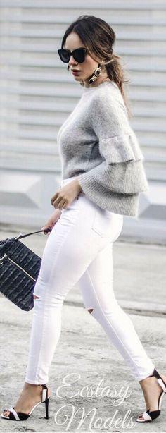Grey Days // Fashion Look by Glency Feliz