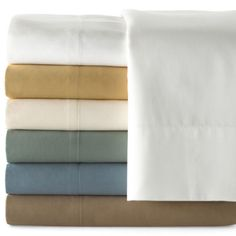 This low-maintenance sheet set has a great look and a fabulous feel.