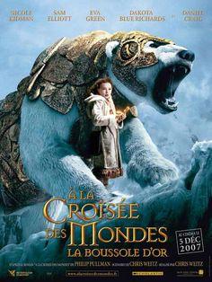 A la croisée des mondes : la boussole d'or est un film de Chris Weitz avec Nicole Kidman, Daniel Craig. Synopsis : Lyra, 12 ans, est une orpheline rebelle qui vit à Jordan College, un établissement de l'Université d'Oxford, dans un monde parallèle qui ressemble au
