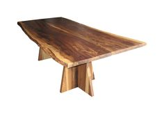 Luca Live-Edge Dining Table by Costantini Design (=)