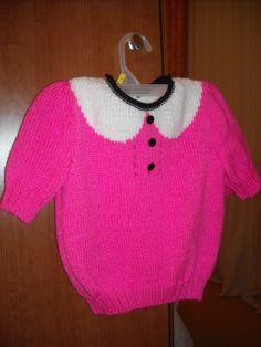 Modèle tricot n°6 du catalogue 87 Pitchoun Enfant