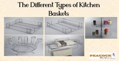 This article gives you a point by point data of the kinds of Peacock Kitchen Basket accessible and which one you can decide for your Kitchen. They are utilized in the kitchen and different spots at homes and workplaces. Baskets are various materials like metal, plastics and fiber. Kitchen Baskets, Different Types, Stainless Steel Kitchen, Peacock, Fiber, Homes, Canning, Metal, Home Decor