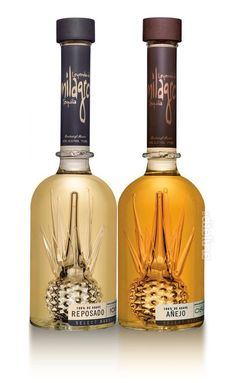 Milagra...the best tequila...don't forget your orange wedge and cinnamon. Such a cool bottle too.