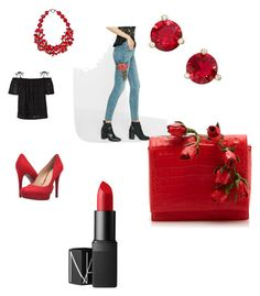 Sin título #1 by maria-eliza-1 on Polyvore featuring polyvore, moda, style, Express, Jessica Simpson, Nancy Gonzalez, Kate Spade, Plumeria Exclusive London, NARS Cosmetics, fashion and clothing