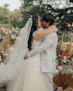 casamento jade seba e bruno guedes Boho Chic, Jade, Wedding Dresses, Goals, Fashion, Weddings, Engagement, Vestidos, Bride Dresses