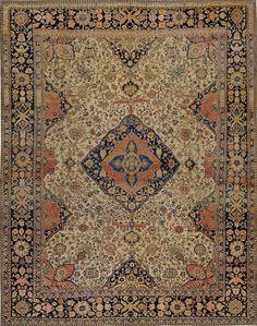 Persian Keshan Mohtashem rug