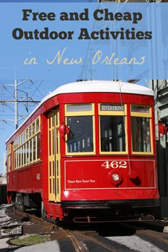 A great list of six aweome free or cheap activities in New Orleans that anyone visiting or new to New Orleans must do!