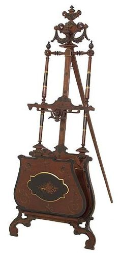 victorian easel///i would loooove to have something like this!