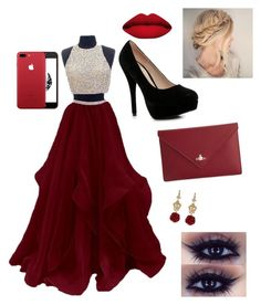"""""""Prom day?💄💃🏻👗👠👑"""" by alexandra-geabau on Polyvore featuring Boohoo, Vivienne Westwood, Dolce&Gabbana and LASplash"""