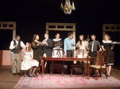 The Dining Room - costume and set