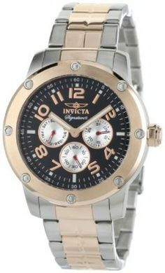 Relógio Invicta Men's 7327 Signature II Collection Multi-Function Two-Tone Stainless Steel Watch #Relogios #Invicta