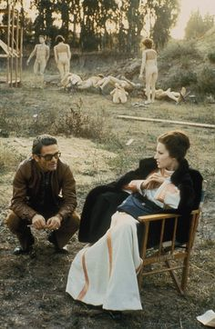 """heirloombabydoll: """" Pier Paolo Pasolini and Silvana Mangano on the set of The Decameron, 1970 """" Maria Callas, The Decameron, Celebridades Fashion, Pier Paolo Pasolini, Film Movie, Movies, Cinema Theatre, Italian Actress, Dating"""