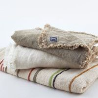 Washed Linen Throws
