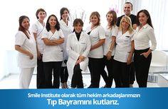 Smile Institute olarak hekim arkadaşlarımızın Tıp Bayramını kutlarız.   #TipBayrami #14Mart #14MartTipBayrami #dendist #dishekimi #hekim #doctor #nisantasi #istanbul #smile #smileinstitute