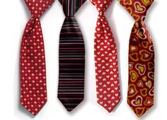One Valentine's Necktie Baby Boy Valentines Outfit Boy by Seams2u, $12.00