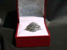 Diamond Engagement Ring w/Diamond Wrap 2.26tcw - $3200