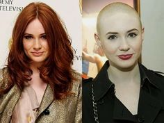 Karen Gillan. Before or After?