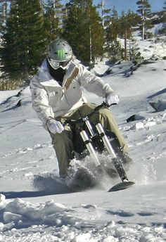 Snowmobile Game Changer, the Snowboard that Goes Uphill? Mountain Lion Hunting, Snow Toys, Winter Love, Machine Design, Game Changer, Design Show, Snowboard, Biker, Racing