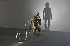 Shadow Self-portraits Made of Junk
