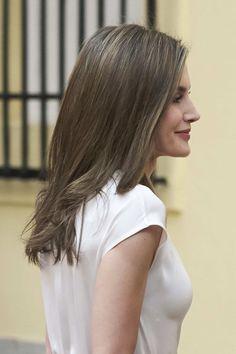 Le roi Felipe et la reine Letizia ont participé à la réunion annuelle de la fondation Princesse des Asturies qui avait lieu au palais du Pa...