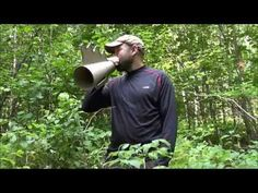 Technique de chasse orignal - Aimé Lessard - Moose call - YouTube