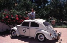 DEAN JONES AT HOME WITH HERBIE THE LOVE BUG 1995