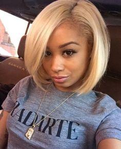 hair, blond, hairstyle, bob cut, black hair,