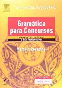 Nova -  Gramatica Para Concursos - 5A. Ed. Revista e Atual (Em Portugues do Brasil)  #apostilas