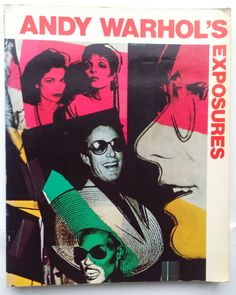 Andy Warhol's Exposures: Vintage 1970s Warhol photography by LastYearGirlbooks on Etsy