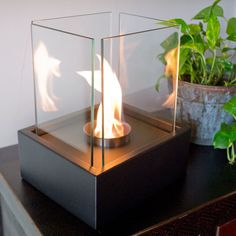 Lampada Bio-Ethanol Tabletop Fireplace